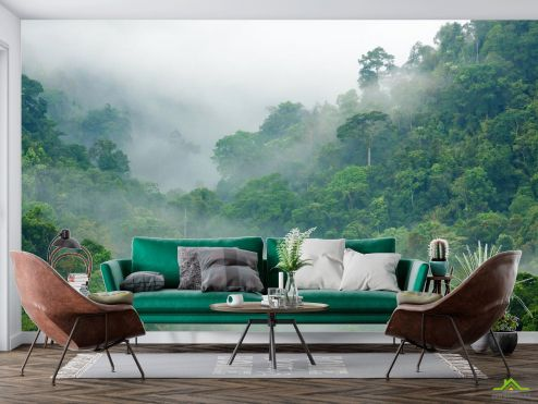 в скандинавском стиле Фотообои тропический лес
