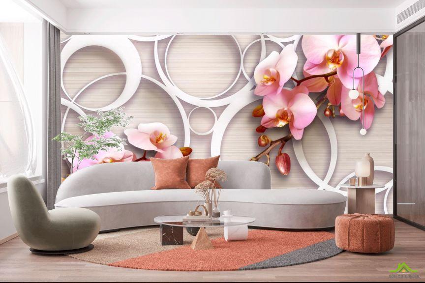 Фотообои Орхидеи 3д