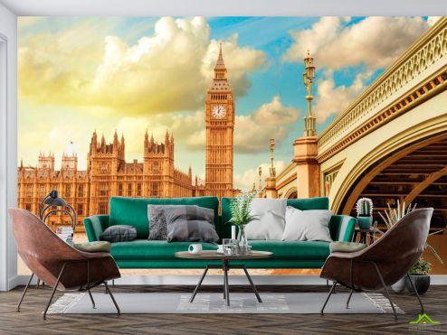 Каталог фотообоев Фотообои Биг-Бен в Лондоне