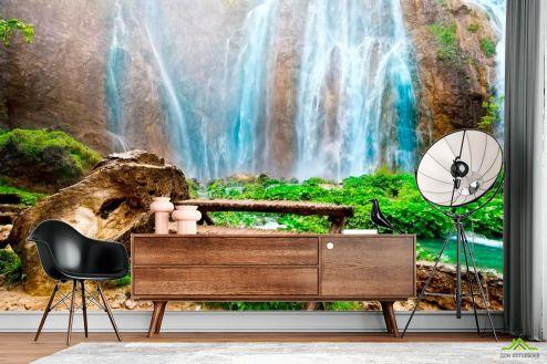 Водопад Фотообои Горное чудо купить