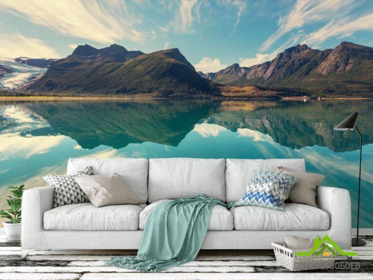 Фотообои Горы скандинавские