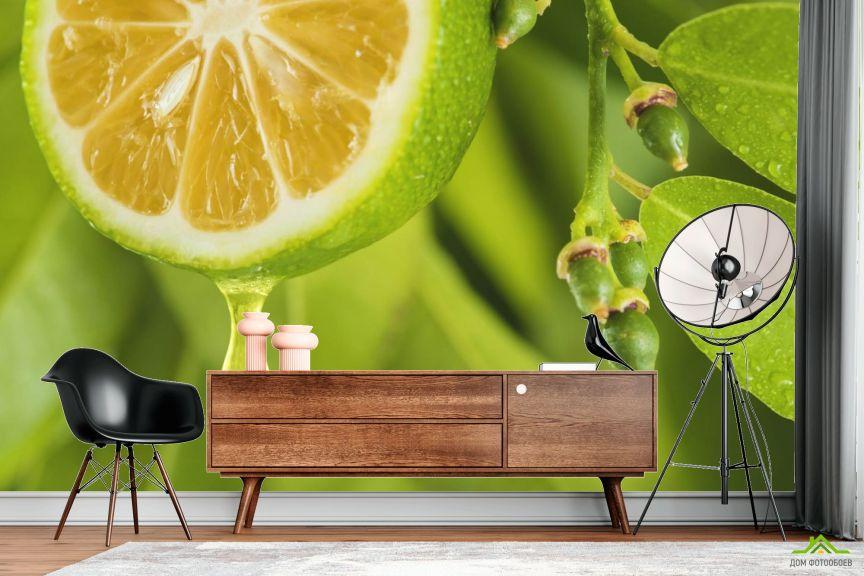 Фотообои Яркий лимон