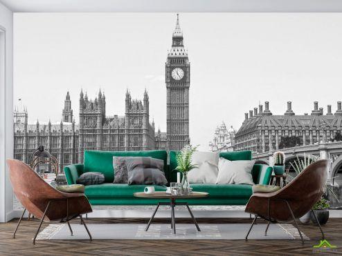 Каталог фотообоев Фотообои  Лондонский Биг-Бен