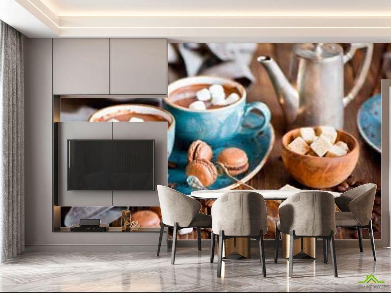 Фотообои в кухню Кофе