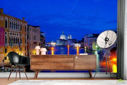 Италия Фотообои Ночная Италия