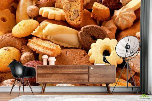 Еда и напитки Фотообои Печенье купить