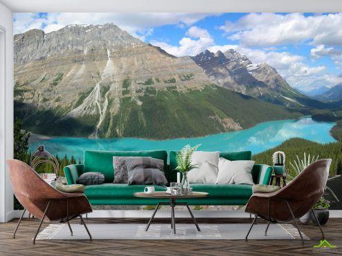 Горы Фотообои Озеро в горах