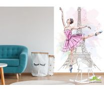 Фотообои Балерина для детской
