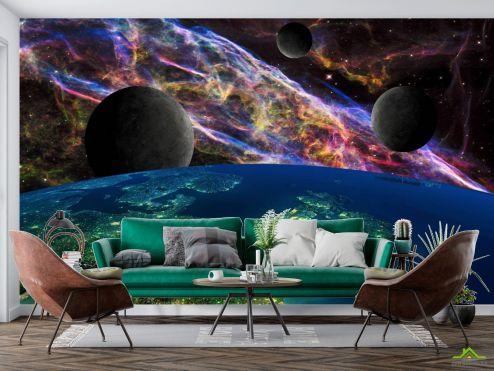 Космос Фотообои Космос и планеты