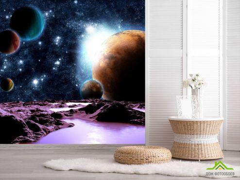 обои Космос Фотообои 6 планет