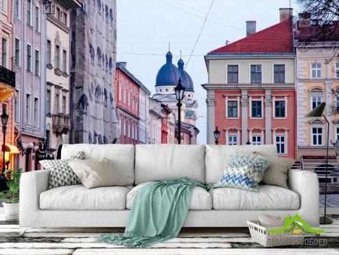 обои Старый город Фотообои Львов, площадь