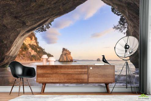 Расширяющие пространство Фотообои Вид на море купить