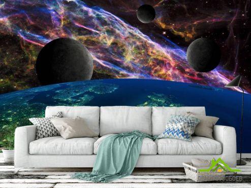 Фотообои Космос по выгодной цене Фотообои Космос и планеты
