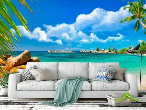 Море Фотообои Лагуна голубая