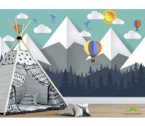 Фотообои Бумажные горы