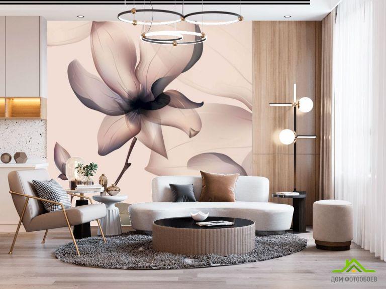 Фотообои Абстрактный 3д цветок