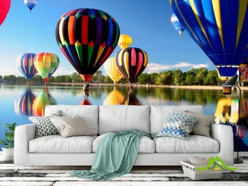 Каталог фотообоев Фотообои Воздушные шары