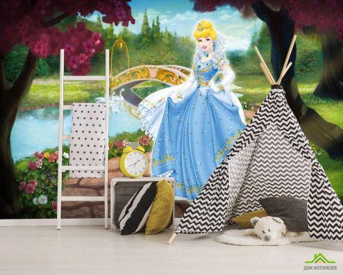 Принцессы Фотообои Золушка