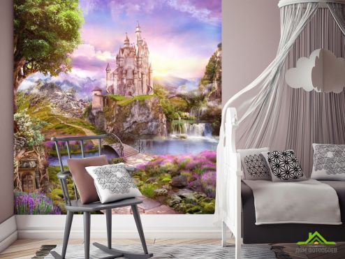 Домики Фотообои Замок