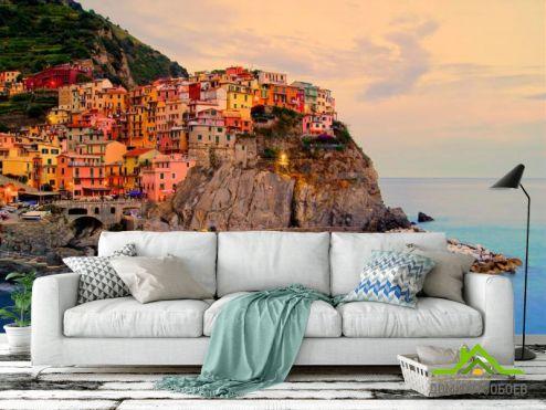 Италия Фотообои Чинкве-Терре, Италия
