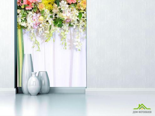 обои Цветы Фотообои Цветы с потолка