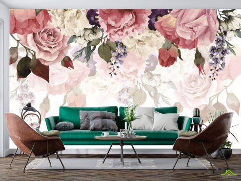 Фотообои Цветы по выгодной цене Фотообои Цветочное ассорти