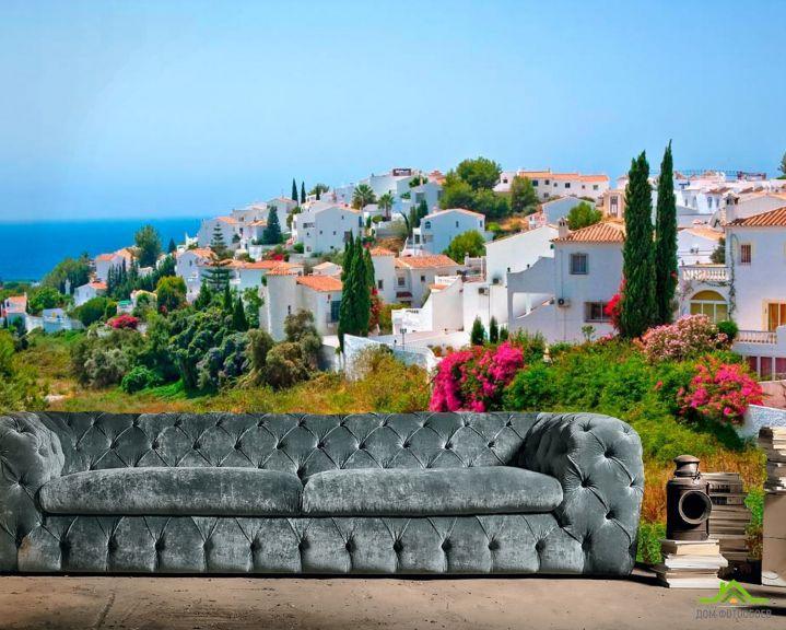 Фотообои Город в Андалусии, курорт