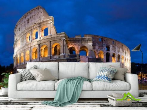 обои Рим Фотообои Колизей в Риме, Италия