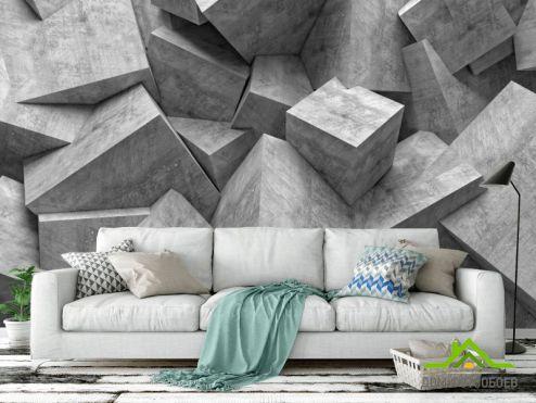3D абстракция Фотообои Абстракция