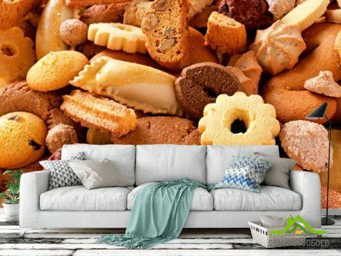 обои Еда и напитки Фотообои Печенье