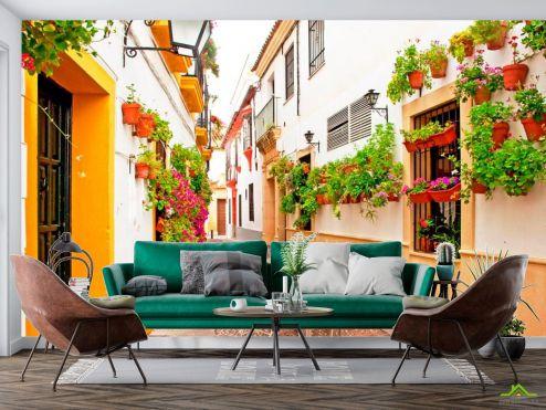 Улицы Фотообои Кафе на улице