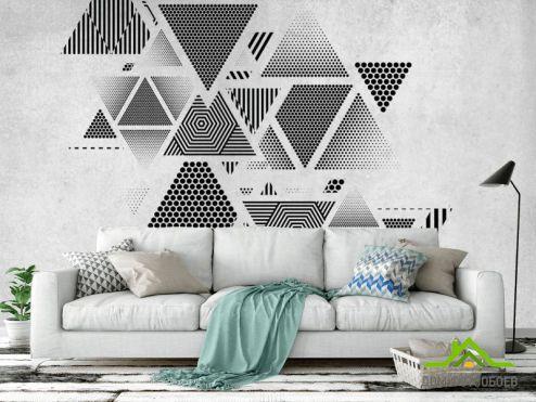 Геометрия Фотообои Треугольники