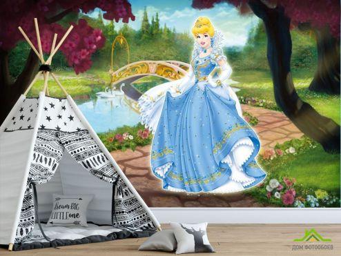 обои Принцессы Фотообои Золушка