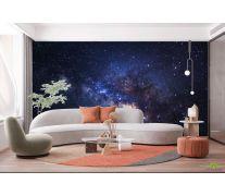 Фотообои черный космос и звёзды
