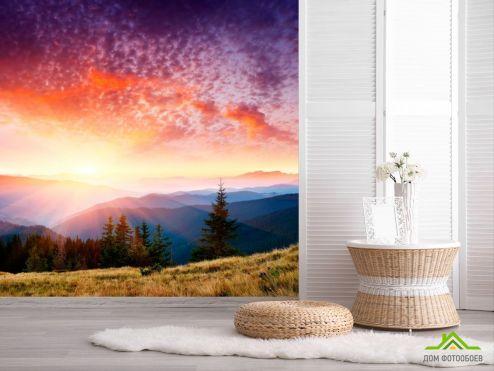 обои Природа Фотообои Зачарованный закат