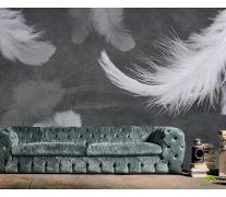 Фотообои Чб перья