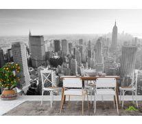 Фотообои в кухню Город