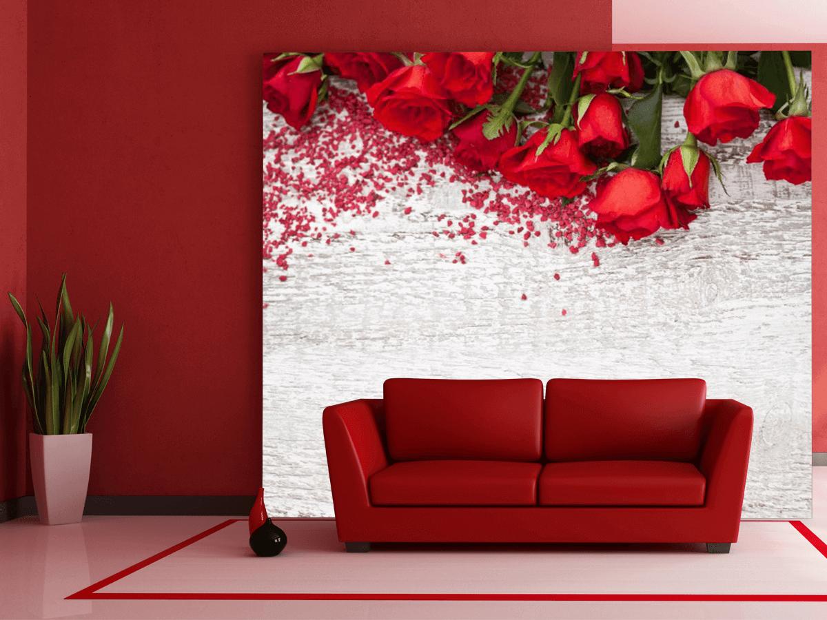 Сочетание обоев двух цветов в гостиной: фото с примерами ... | 900x1200